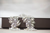 bridal belts and sashes in antique silver