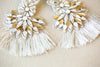 Designer tassel earrings for weddings