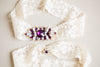 Embellished bridal garter