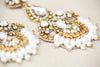 Wedding Drop Earrings Gold