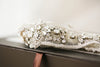 Embroidered bridal dress belt - Style S46