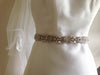 Bridal sash - Wilma 27 inches