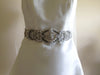 Bridal sash belt - Calida in Silver, Antique Silver or Gold