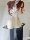 Perle Veil 45 Inches