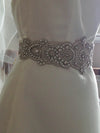 Millieicaro bridal dress belt - zinc
