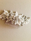 Vintage inspired bridal hair comb - Zulu