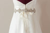 Bridal sash - Hearts Art 29 inches
