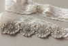 Bridal garter set - Lace floral