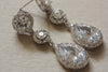 Bridal jewelry - earrings Angela (ready to ship)