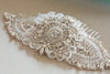 Handmade wedding hair comb