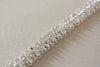 Narrow bridal dress sash