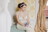 Gold bridal accessories - headpiece H11