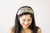 Gold & Silver 3 Strand Bridal Headband for Weddings - Style R109