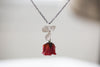 Mother Day Gifts - Real Flower Necklace