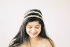 Two strand bridal headband