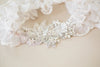 designer wedding garter set