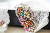 bridal garter set multi colored