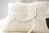 beaded wedding ring bearer pillows