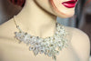 Bridal Jewelry Necklace - Style Artdeco