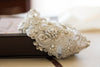 designer bridal dress sash - R04