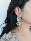 big gold bridal earrings