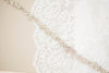 handmade crystal bridal dress sash