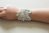 Statement bridal bracelet Style R42