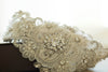 gold bridal dress embellishment - R04
