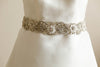 crystal bridal belts and sashes - Style S46