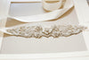 Ivory bridal belts and sashes - Style S32 (1 qty ready to ship)
