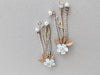 bridal drop earrings swarovski