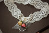 Bridal garter  - Rose ( 1 qty ready to ship)