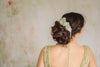 bridal hair bun wrap