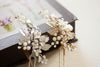 Designer bridal hair pins - H32