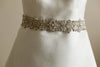 bridal beaded sash - S47