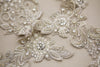 wedding dress beading