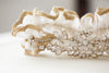 handmade embellished wedding garter