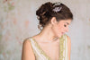 floral bridal hairpins