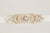 Gold and opal bridal sash - Style sash R20 (Ready to ship)