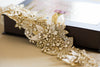 Bridal Sash Gold