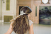 bridal hair comb for bun - Flaminia