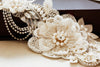 couture bridal dress sash - S34
