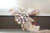 rose gold bridal accessories