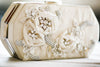 ivory bridal purse ct05