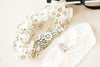 vintage wedding garter set