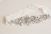 Vintage inspired antique bridal garter - Style R31