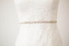 Thin Crystal Bridal Belt