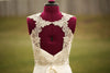 Wedding dress shoulder strap