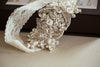 floral wedding garter set - G11