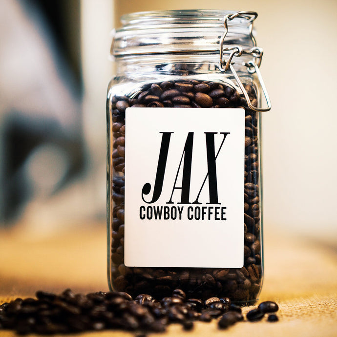 Cowboy Coffee Jar - Air Tight